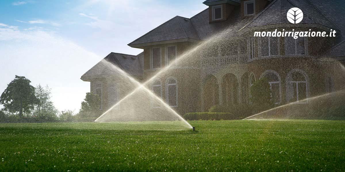 Irrigatori da giardino come sovrapporre i getti per un for Irrigatori automatici per giardino