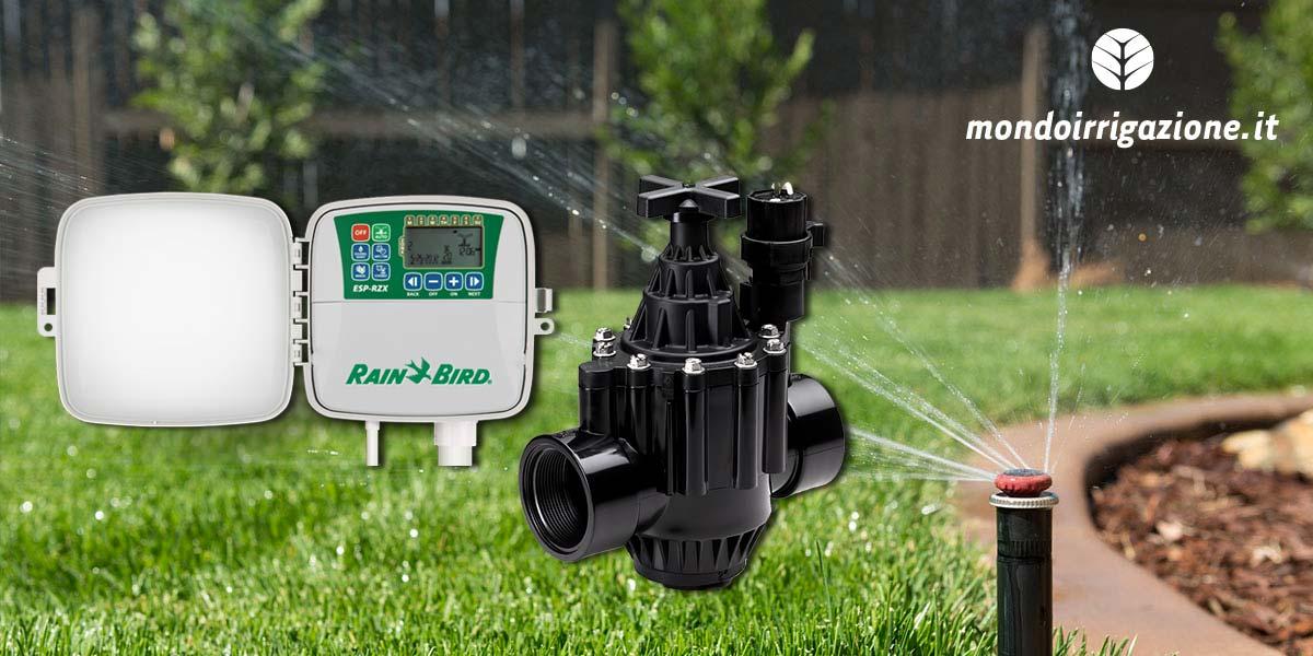Impianto di irrigazione per prato guida ai componenti for Irrigazione prato fai da te