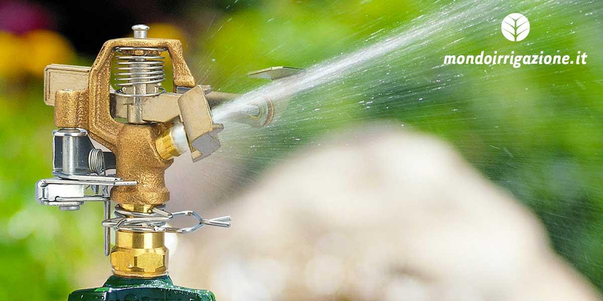 Irrigatori da giardino quali scegliere modelli marche e for Irrigatori fuori terra