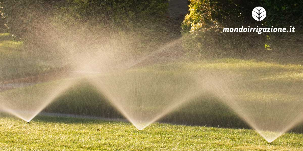Irrigatori statici da giardino