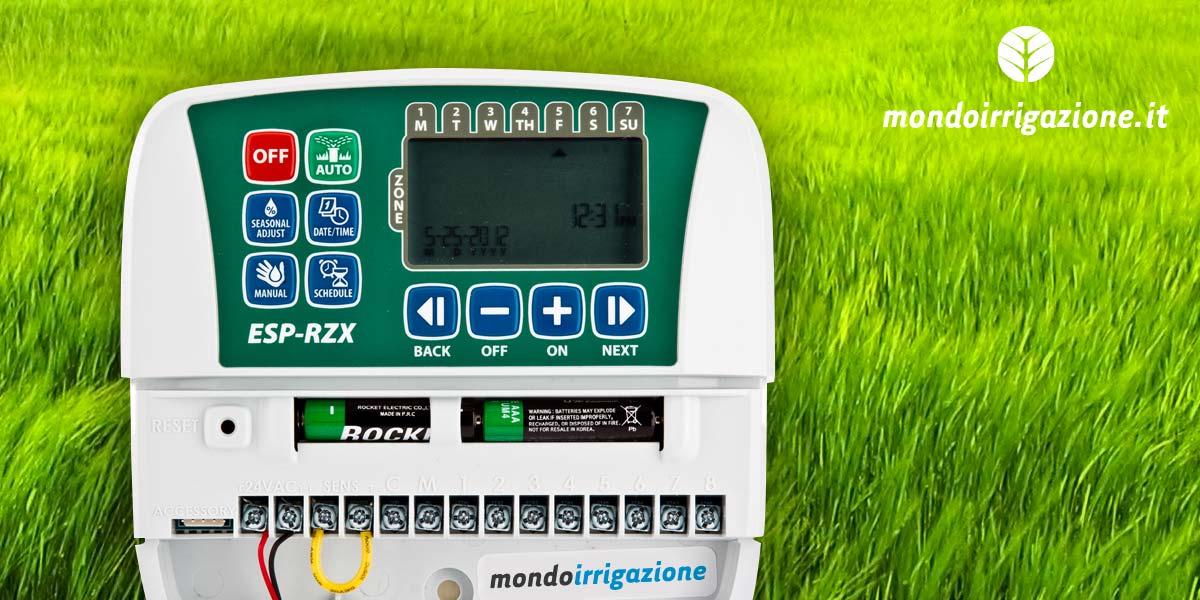 Centralina per irrigazione collegare elettrovalvole for Impianto irrigazione automatico